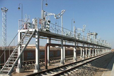 铁路油品装卸鹤管及其他设备要求